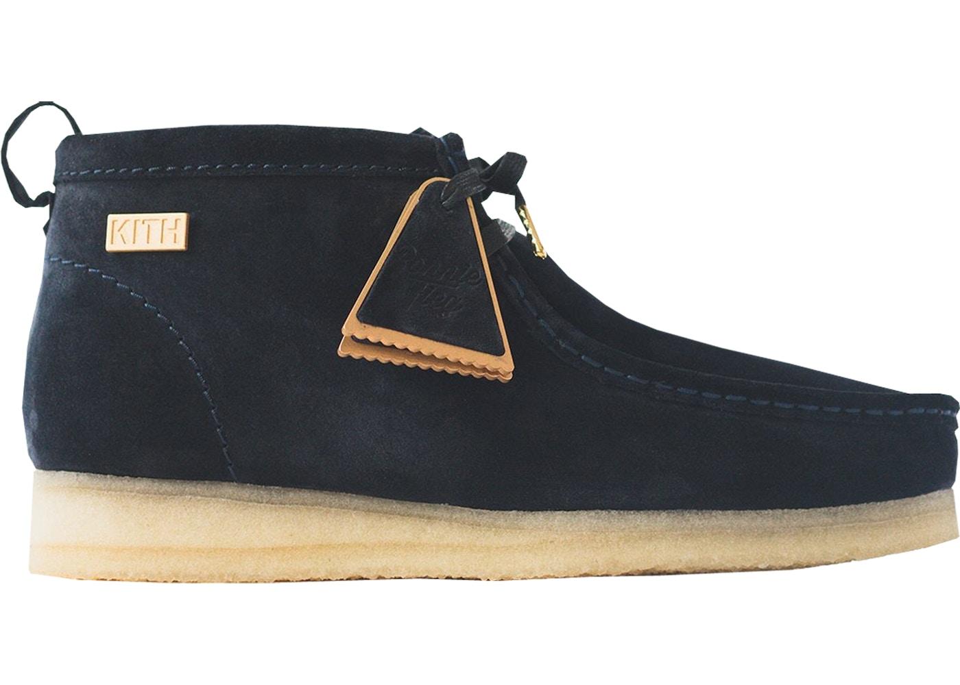 ebaac10e Clarks Wallabees Ronnie Fieg Navy - Sneakers