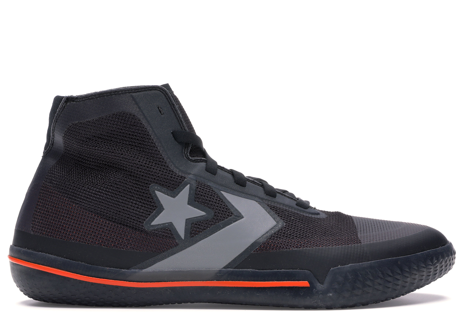 Converse All Star Pro BB Black Silver Orange
