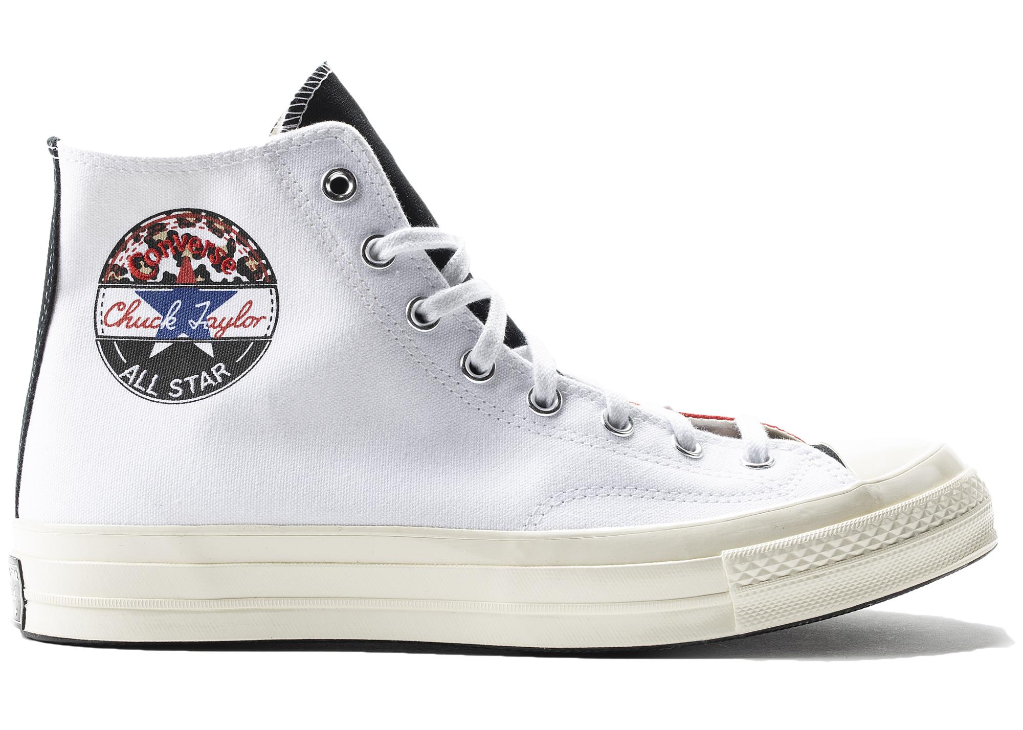 Converse Chuck 70 Hi Logo Play White
