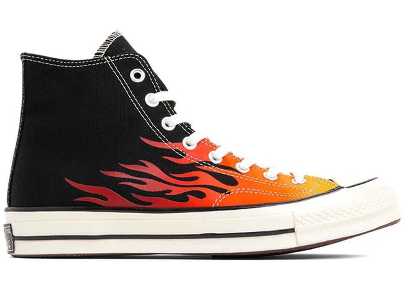 Converse Chuck Taylor All Star 70s Hi Archive Print Flames