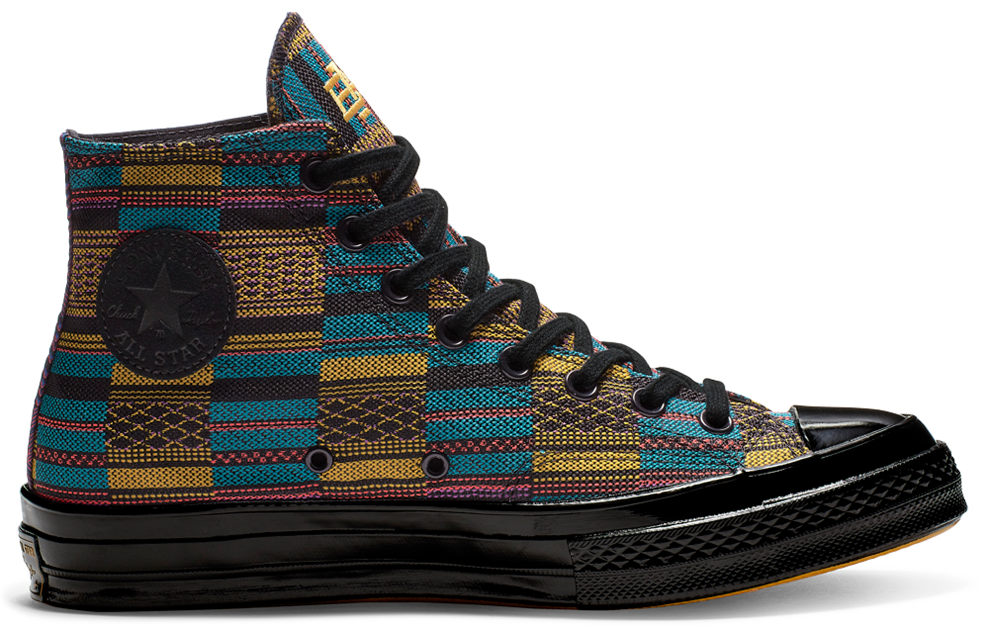 Converse Chuck Taylor All-Star 70s Hi BHM Black/Multi All Over Print (2019)