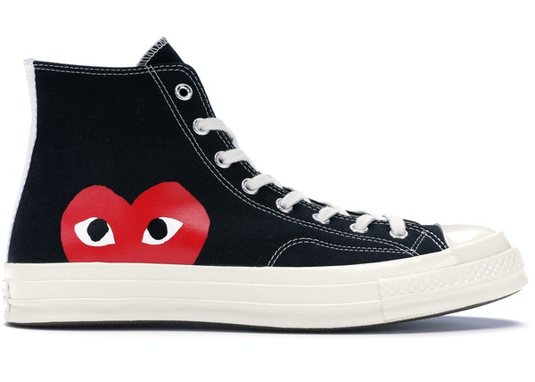 Converse Chuck Taylor All-Star 70s Hi Comme des Garcons PLAY Black 476111c35