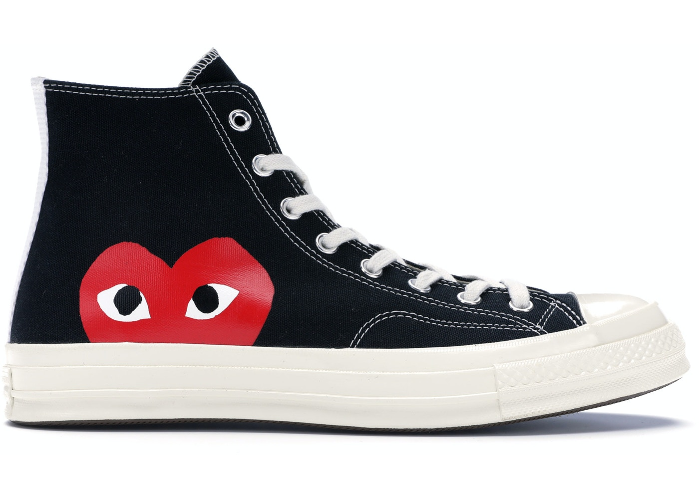 d376ea2e1b Converse Chuck Taylor All-Star 70s Hi Comme des Garcons PLAY Black - 150204C