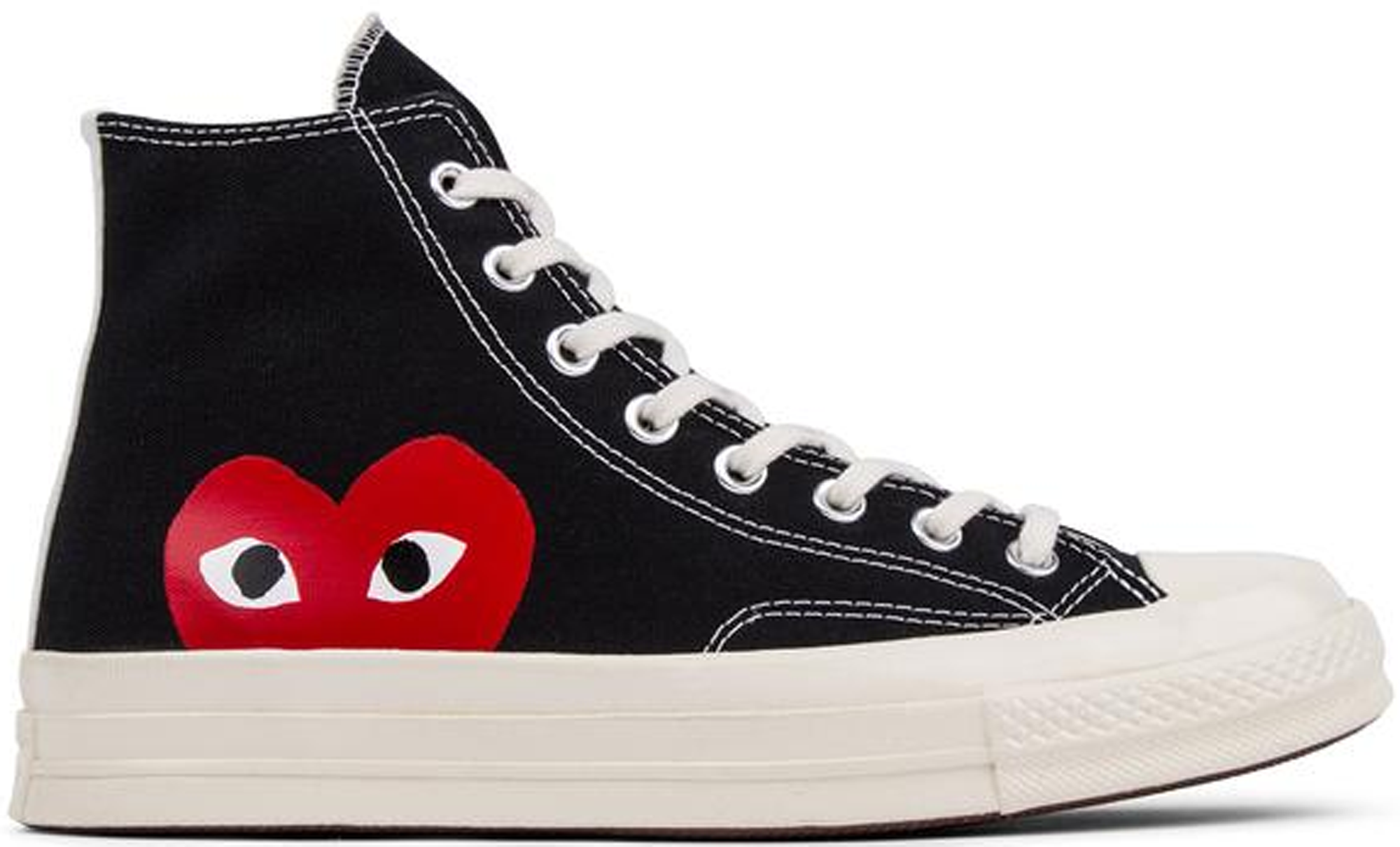 Chuck Taylor All-Star 70s Hi Comme des Garcons PLAY Black