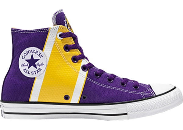 f84d65eb303414 Converse Chuck Taylor All-Star 70s Hi Franchise Los Angeles Lakers - 159415C