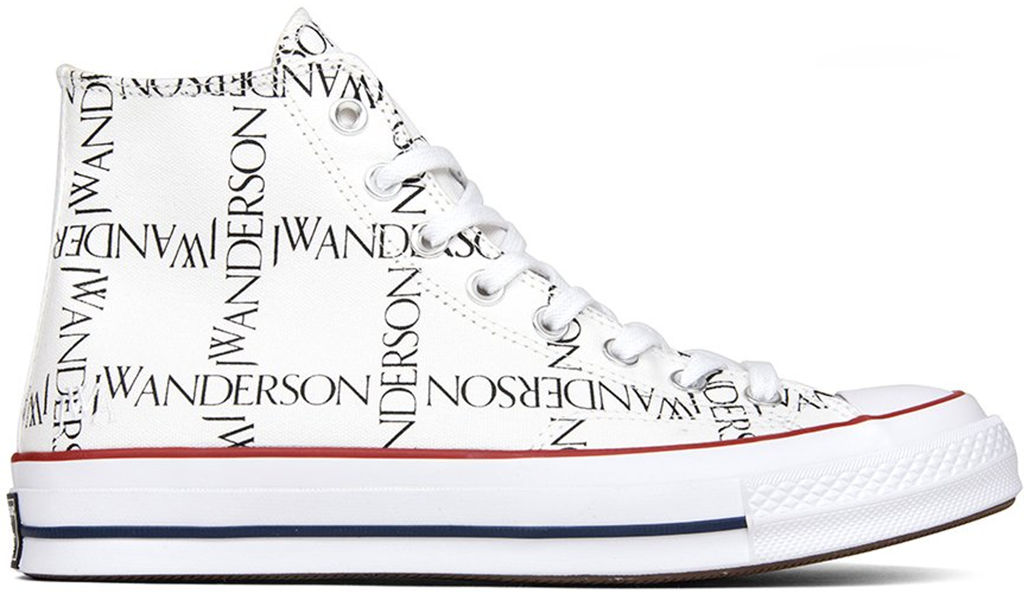 Converse Chuck Taylor All-Star 70s Hi Grid JW Anderson White