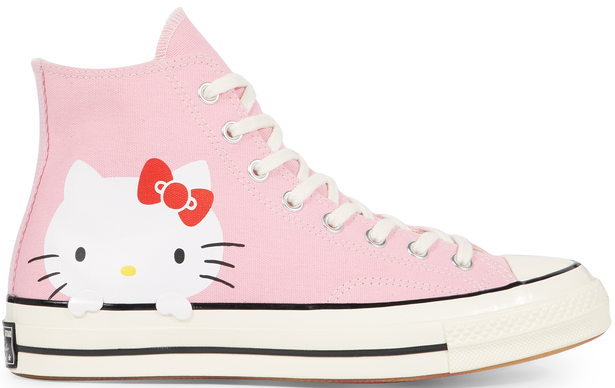 Converse Chuck Taylor All-Star 70s Hi Hello Kitty Pink