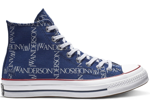 Converse Chuck Taylor All-Star 70s Hi JW Anderson Repeat Print Twilight Blue 4f7ab85ae