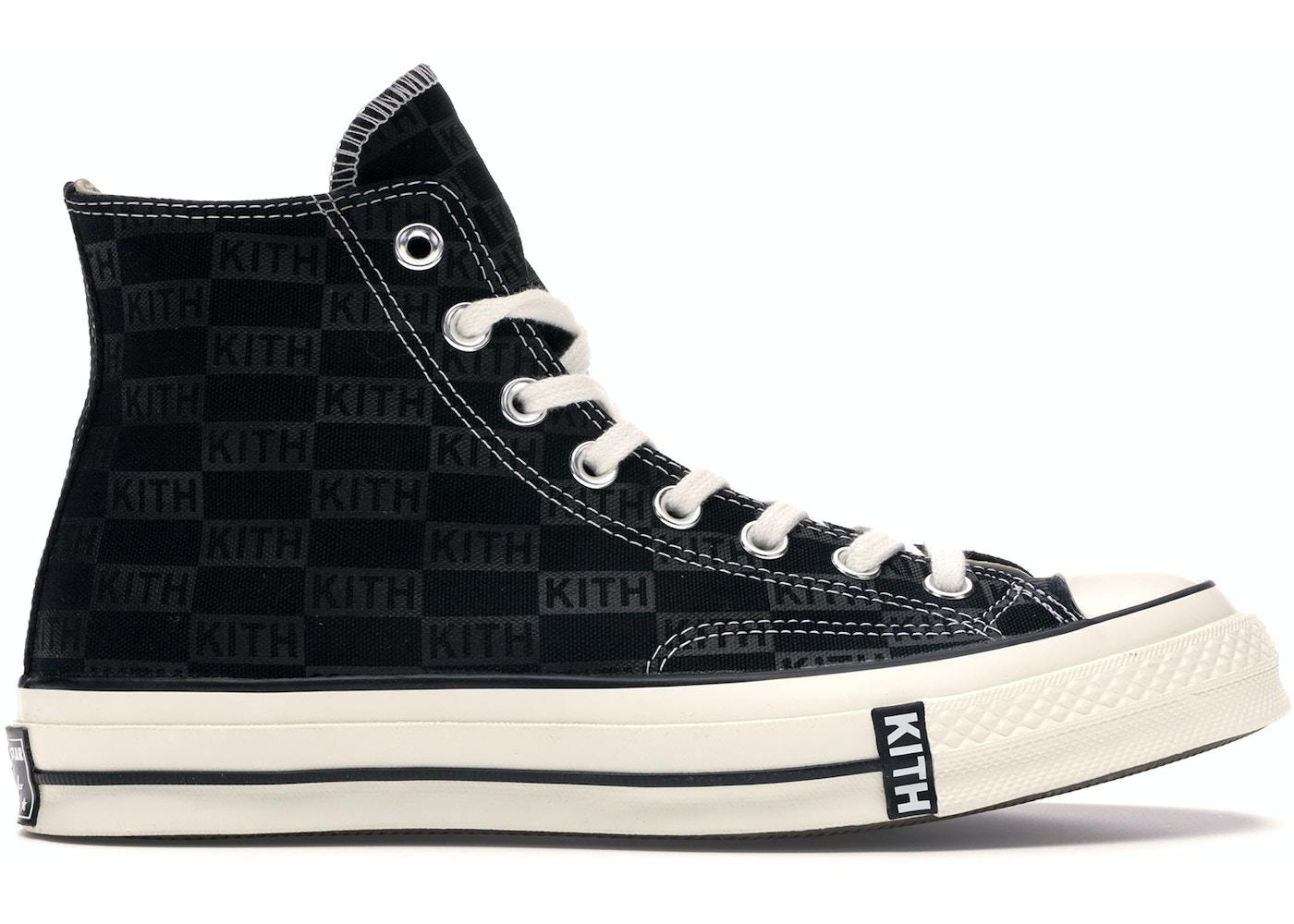 e76ab8fac9d Converse Chuck Taylor All-Star 70s Hi Kith Classics Black