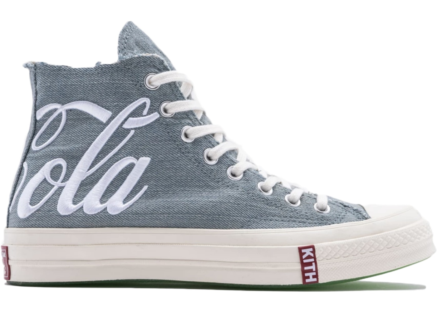 Converse Chuck Taylor All-Star 70s Hi Kith Coca-Cola Denim (2019)