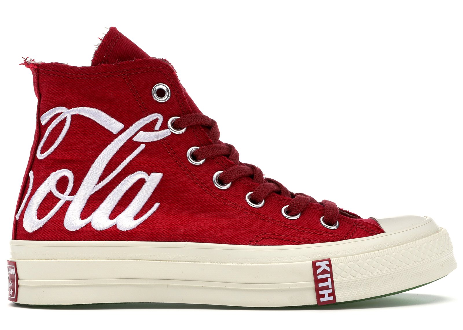 Converse Chuck Taylor All Star 70s Hi Kith x Coca Cola Red