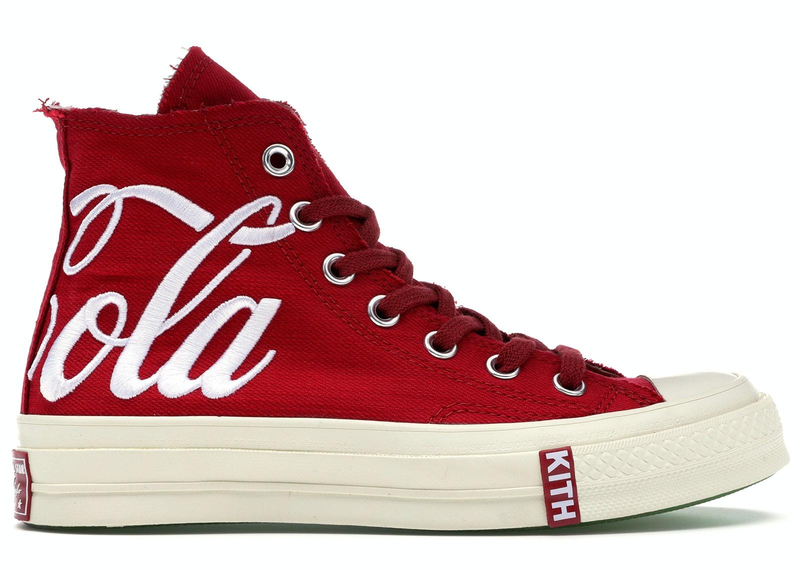 Converse Chuck Taylor All-Star 70s Hi Kith x Coca Cola Red