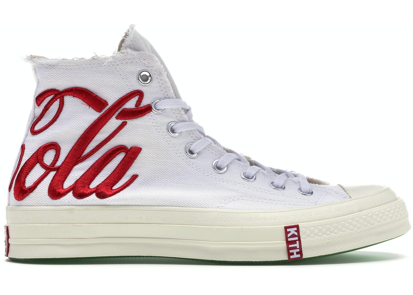 dd73b630 Converse Chuck Taylor All-Star 70s Hi Kith Coca-Cola White - CN160286C