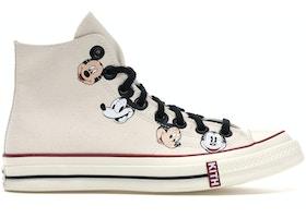 Converse Chuck Taylor All-Star 70s Hi Kith x Disney Egret