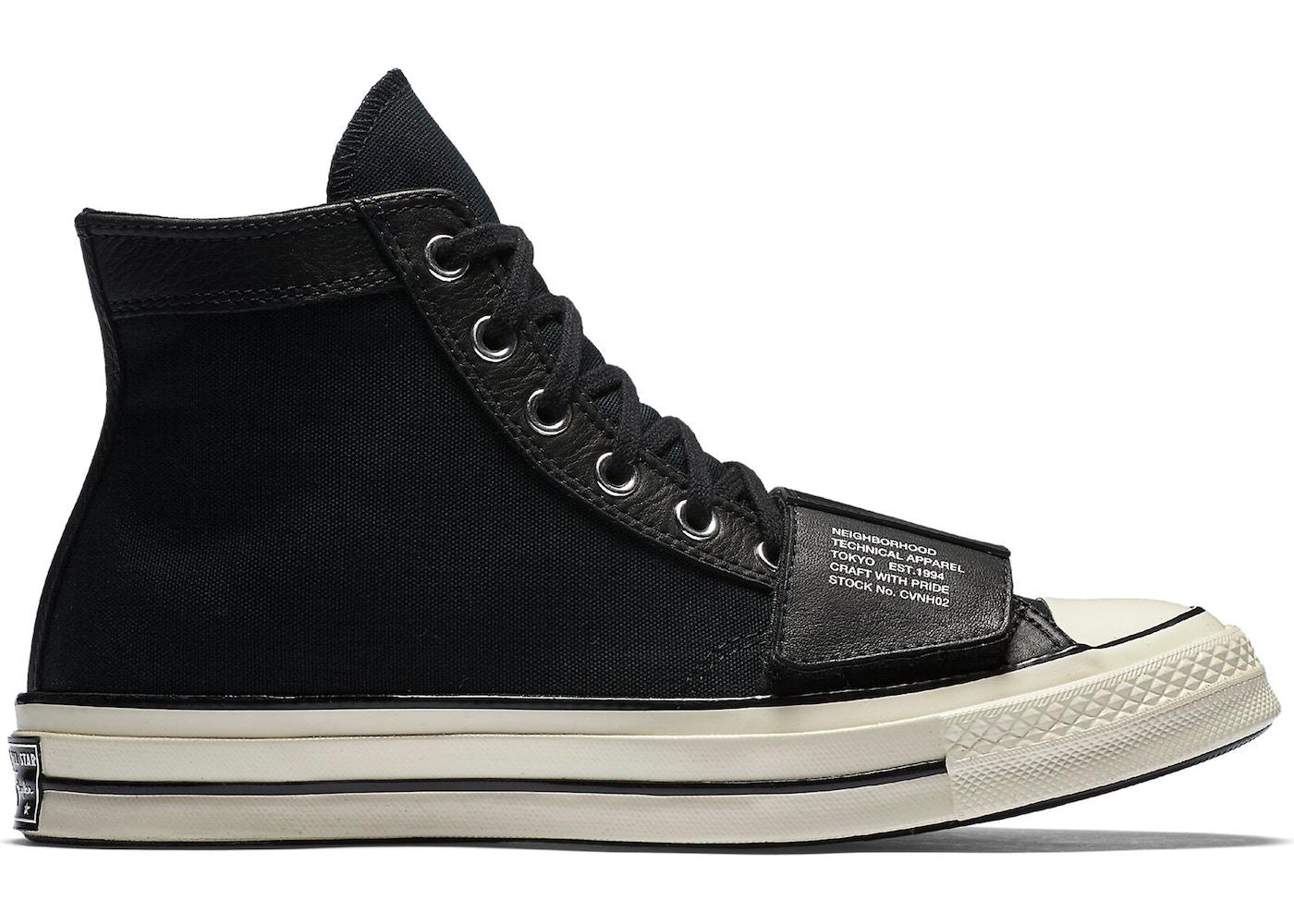 1641dedc19db80 Converse Chuck Taylor All-Star 70s Hi Neighborhood Black - 158602C-001
