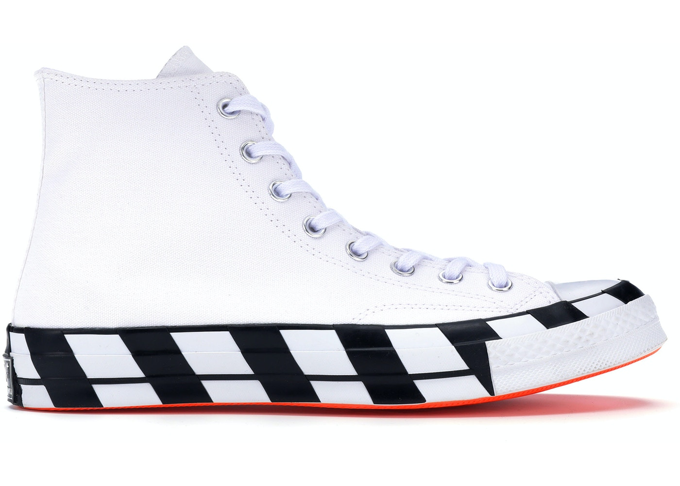 Menos Mar digerir  Converse Chuck Taylor All-Star 70s Hi Off-White - 163862C