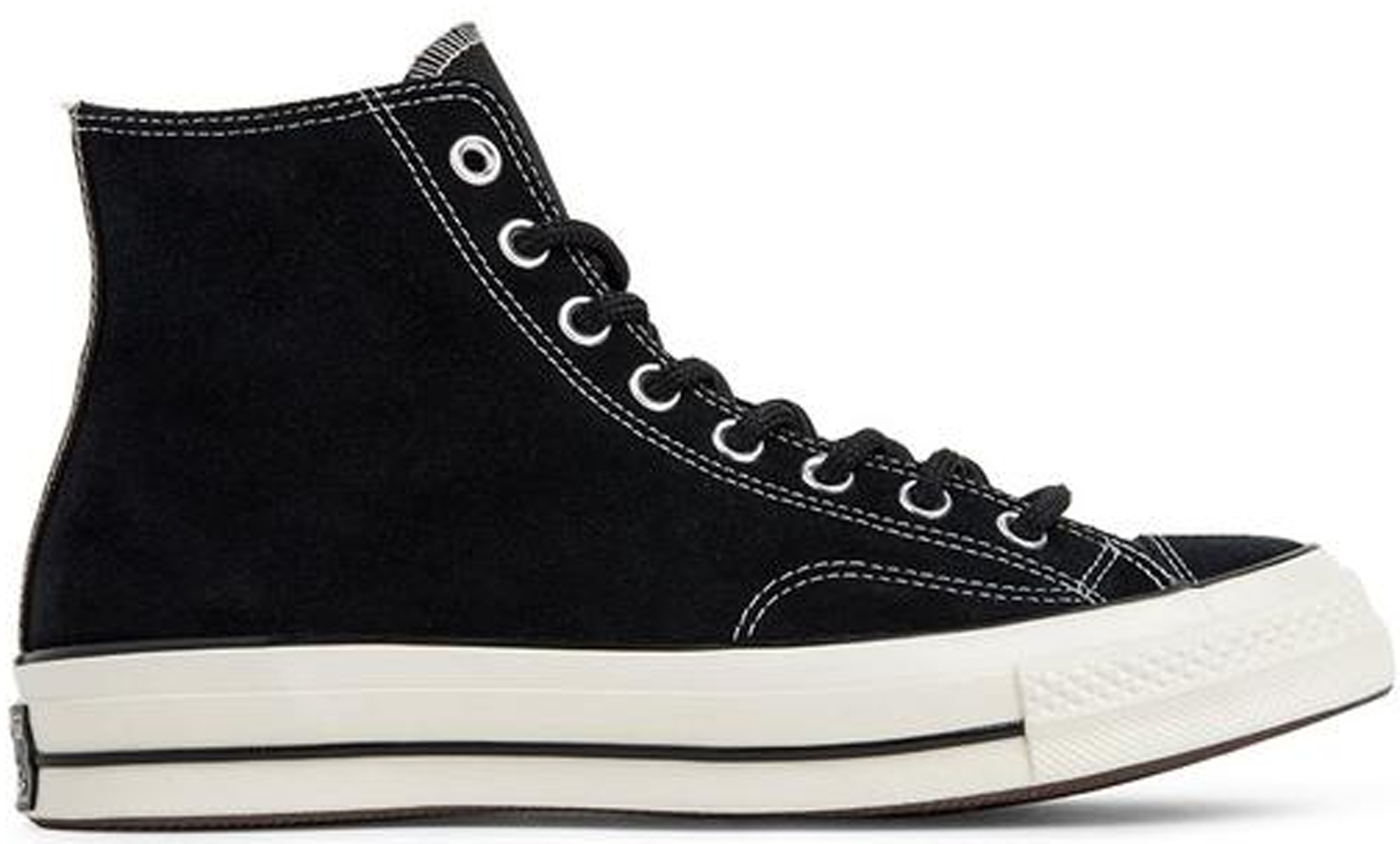 Converse Chuck Taylor All-Star 70s Hi Suede Pack Black