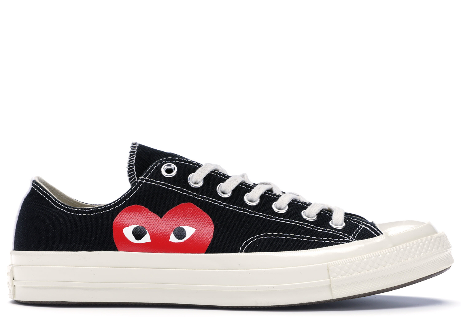 Converse Chuck Taylor All Star 70s Ox Comme des Garcons PLAY Black