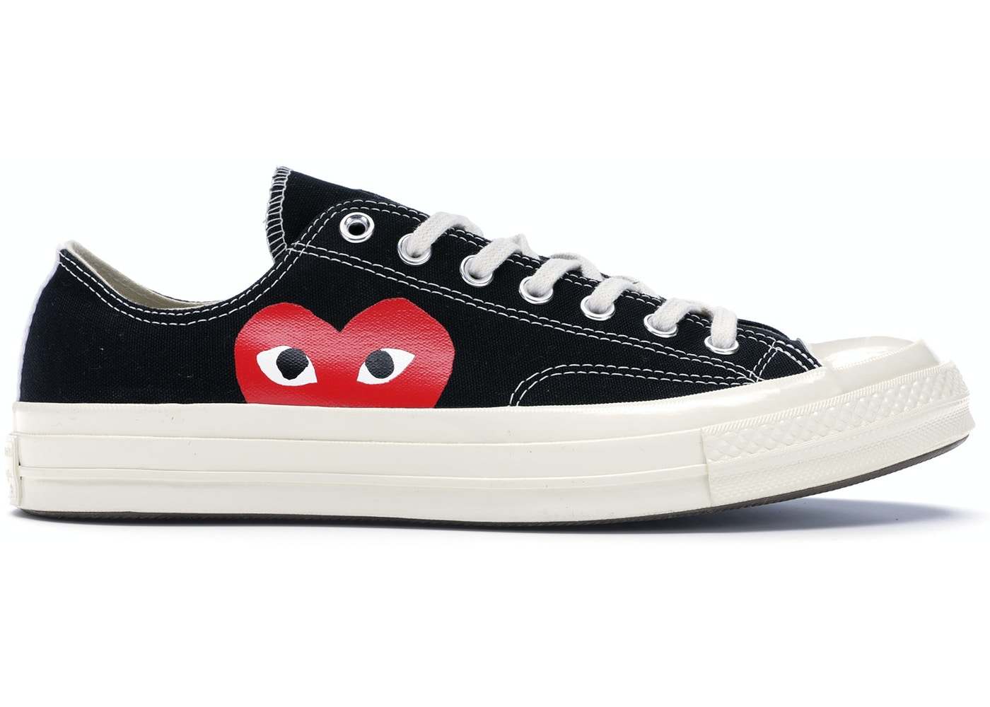 79b1b947ac2 Converse Chuck Taylor All-Star 70s Ox Comme des Garcons PLAY Black - 150206C
