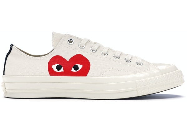 50aa3218eb48 Converse Chuck Taylor All-Star 70s Ox Comme des Garcons PLAY White