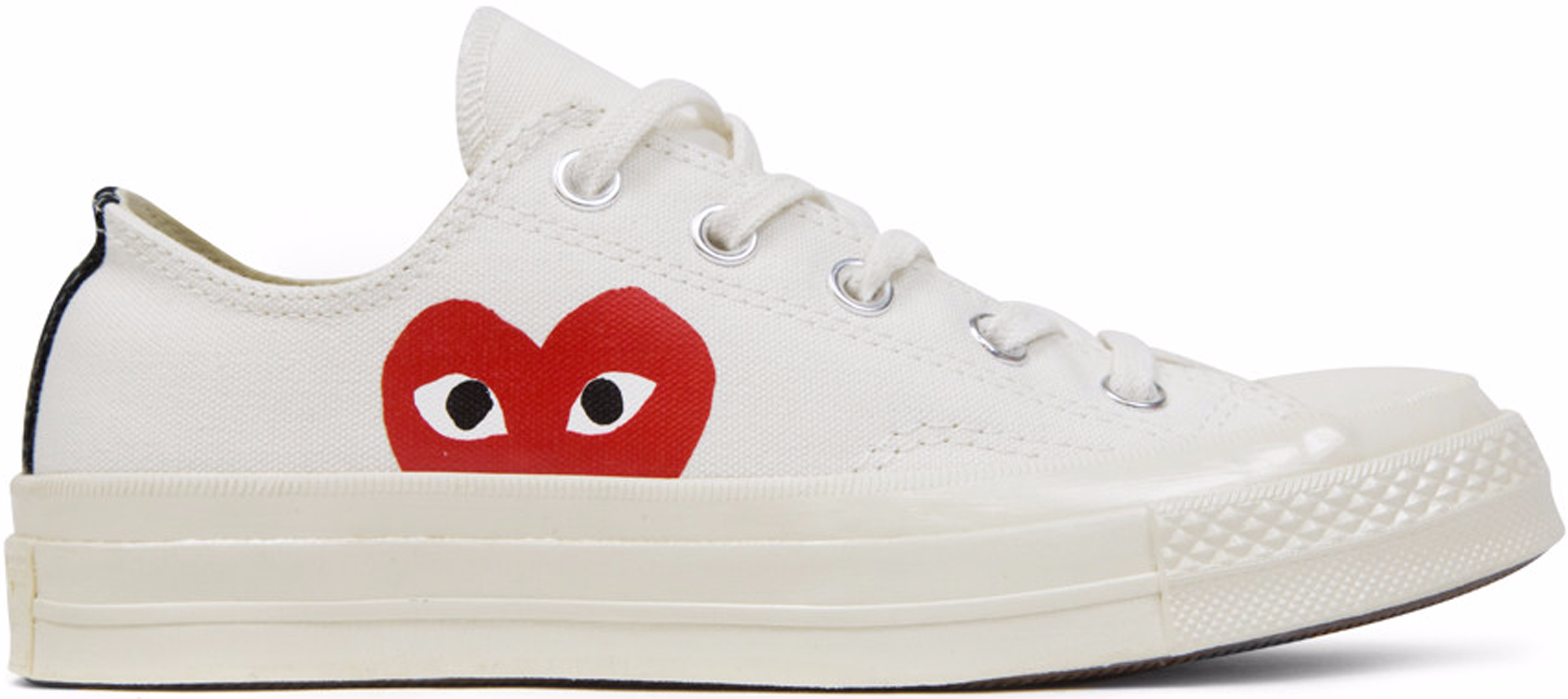 converse all star white. converse chuck taylor all-star 70s ox comme des garcons play white all star