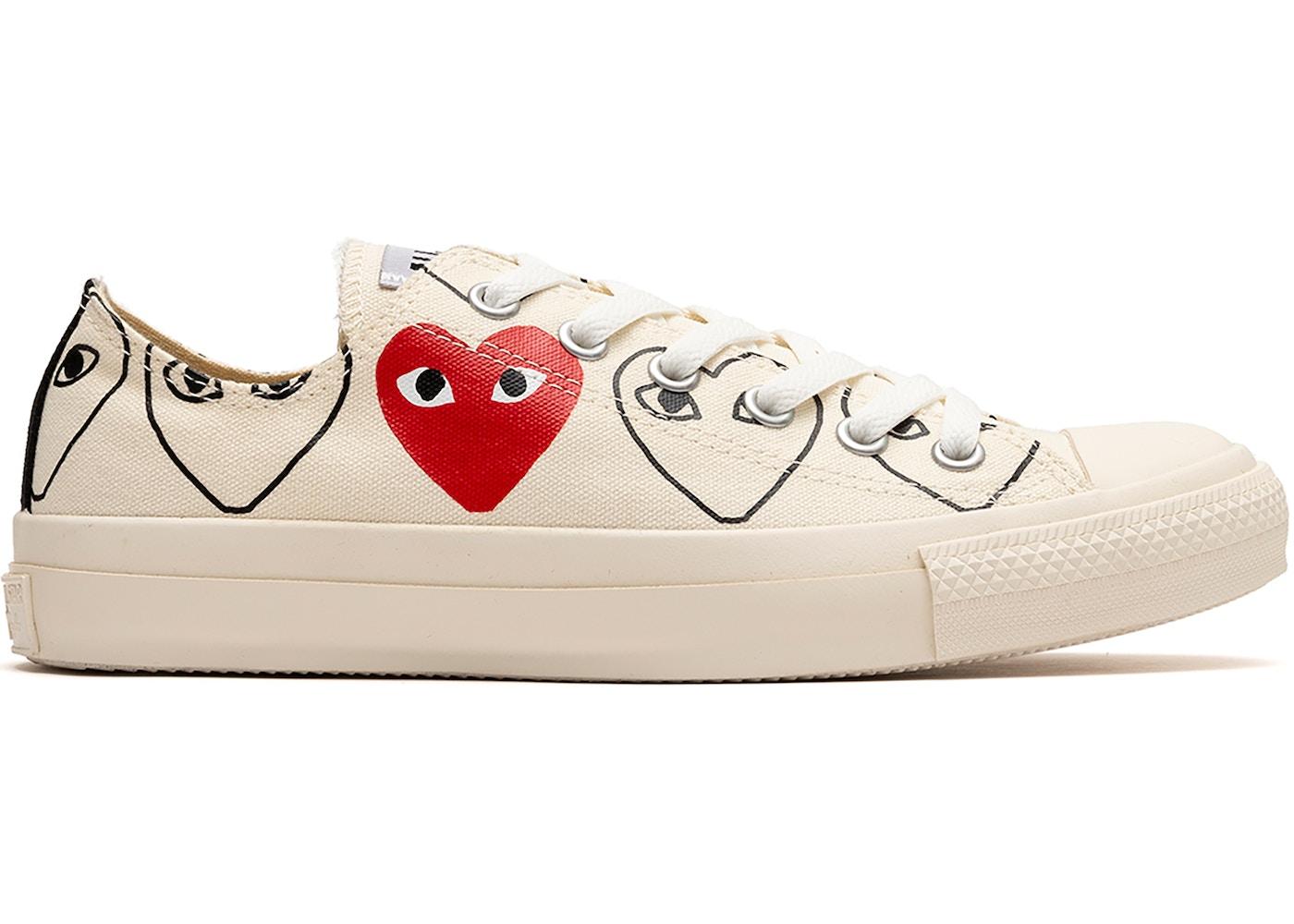Pornografía de ultramar Peregrino  Buy Converse Comme Des Garcons Shoes & Deadstock Sneakers