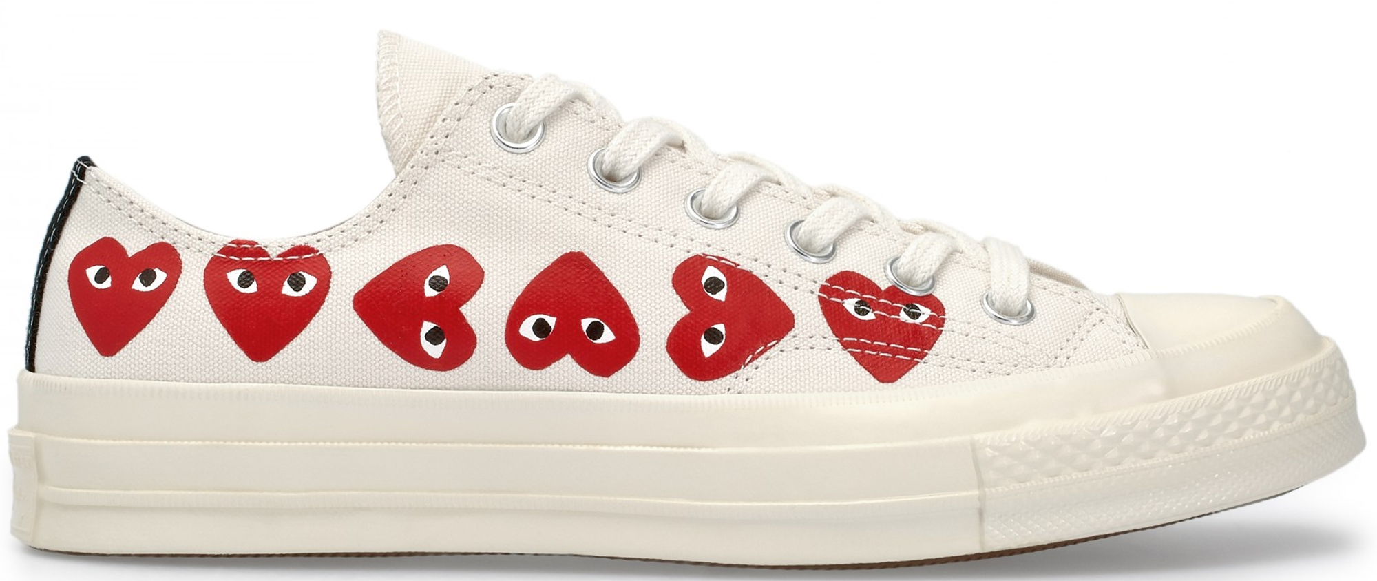 Converse Chuck Taylor All-Star 70s Ox Comme des Garcons Play Multi-Heart White