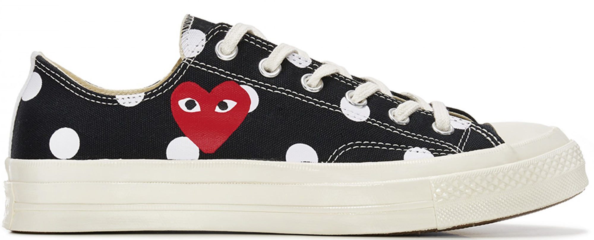 Converse Chuck Taylor All-Star 70s Ox Comme des Garcons Polka Dot Black