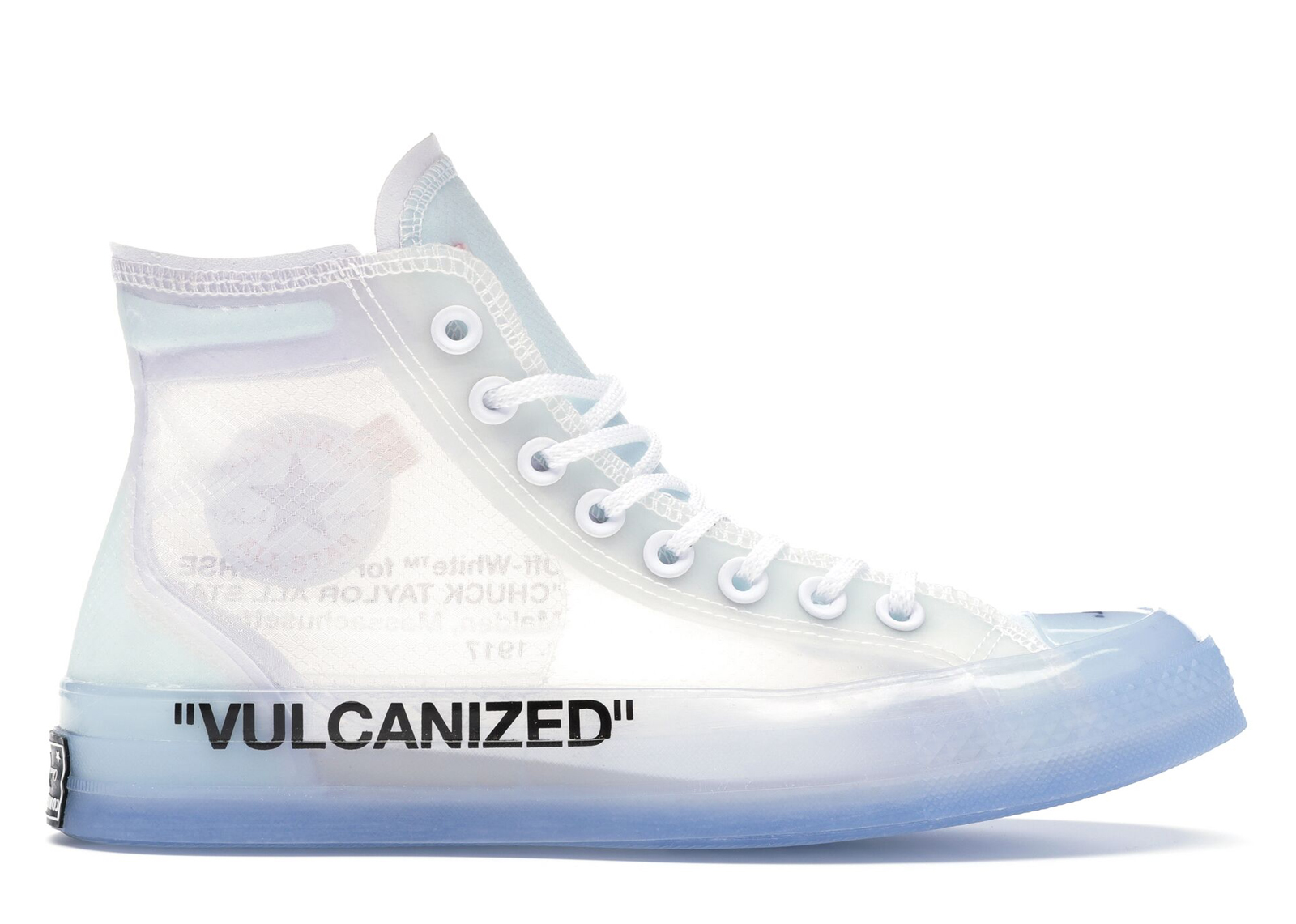 Converse Chuck Taylor All Star Vulcanized Hi Off White