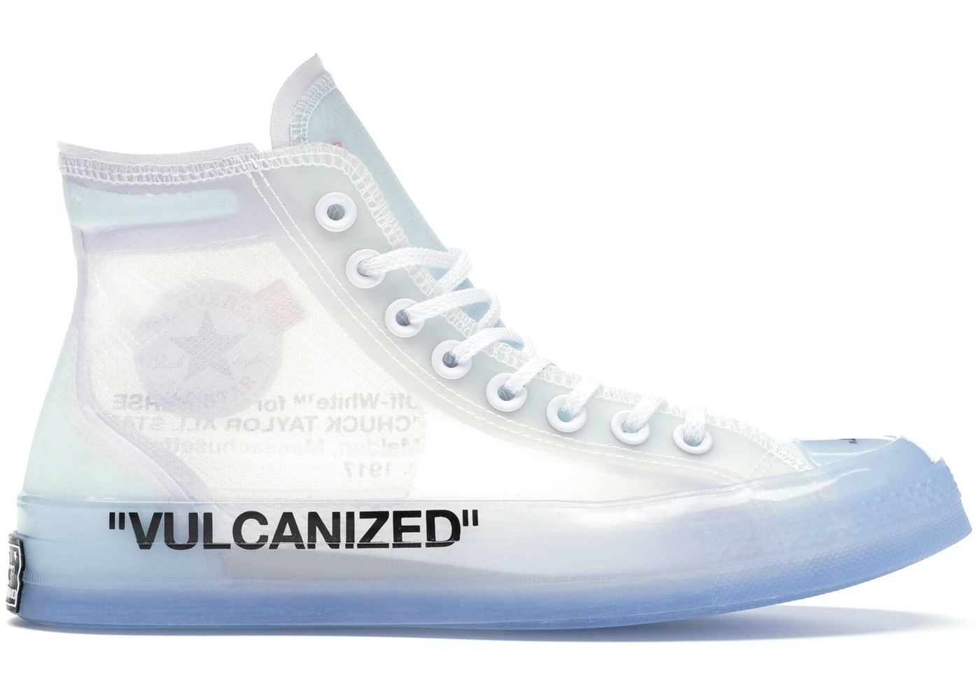 classic hot-seeling original reputation first Converse Chuck Taylor All-Star Vulcanized Hi Off-White