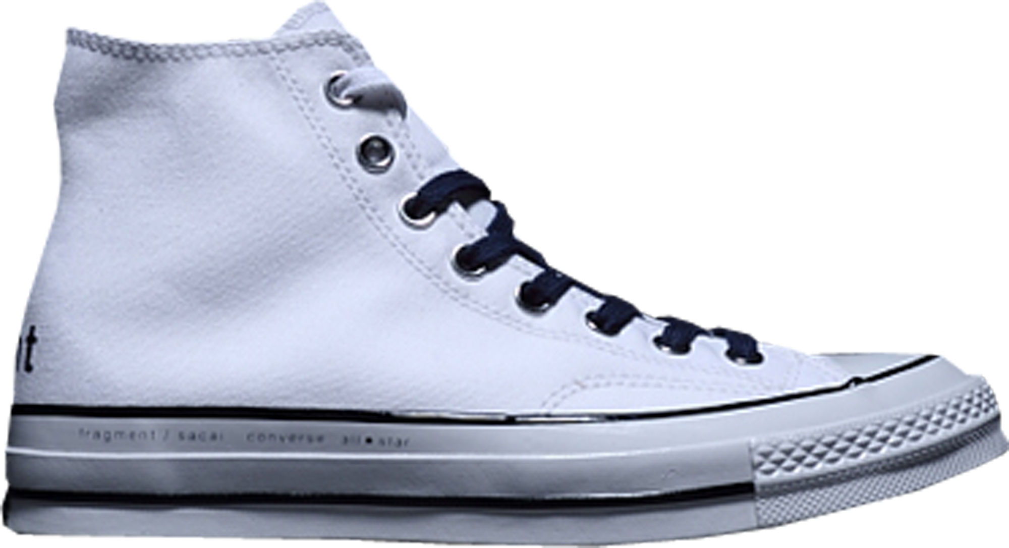 Converse Chuck Taylor All-Star Hi sacai x fragment White