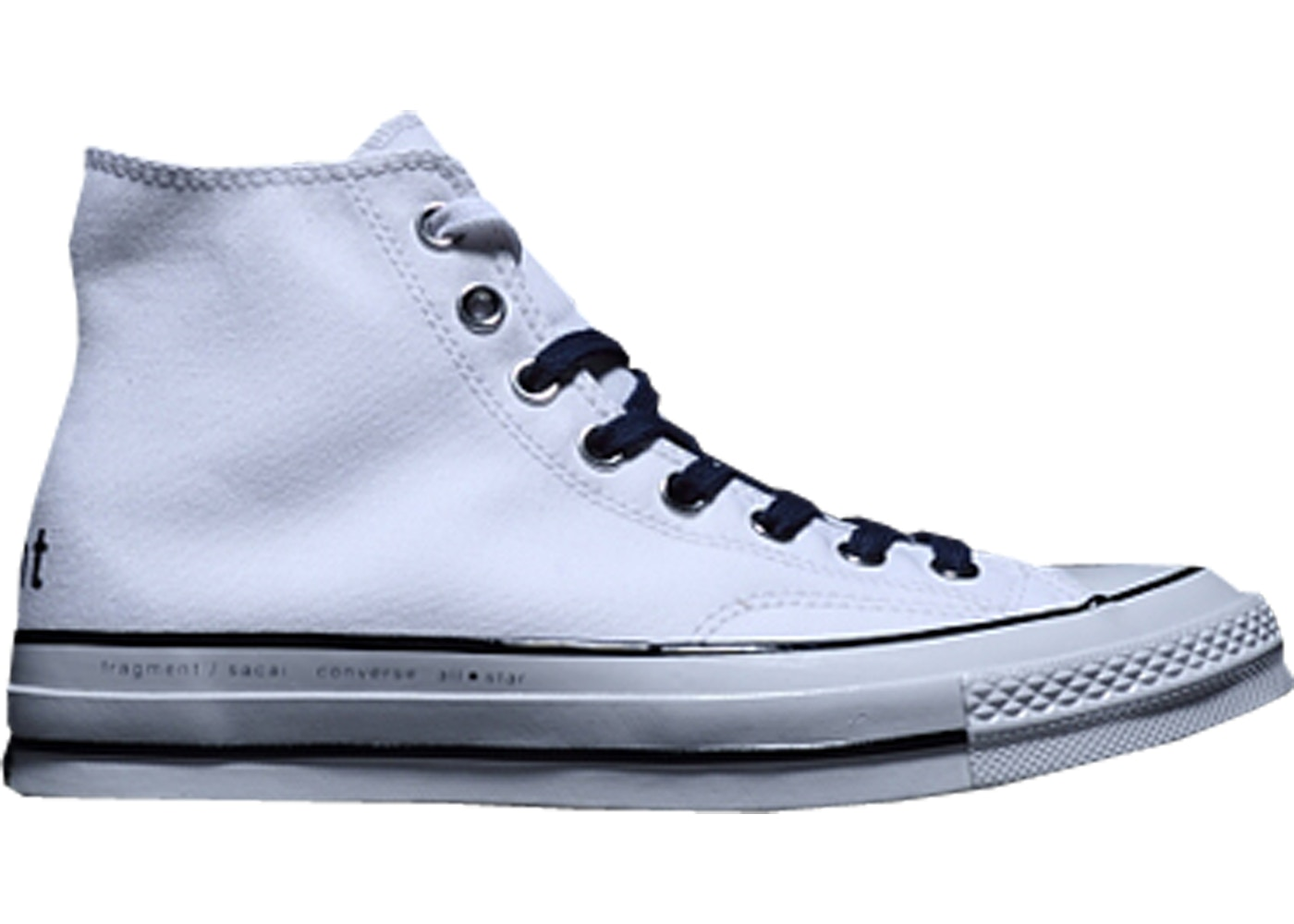 Converse Chuck Taylor All Star Hi sacai x fragment White