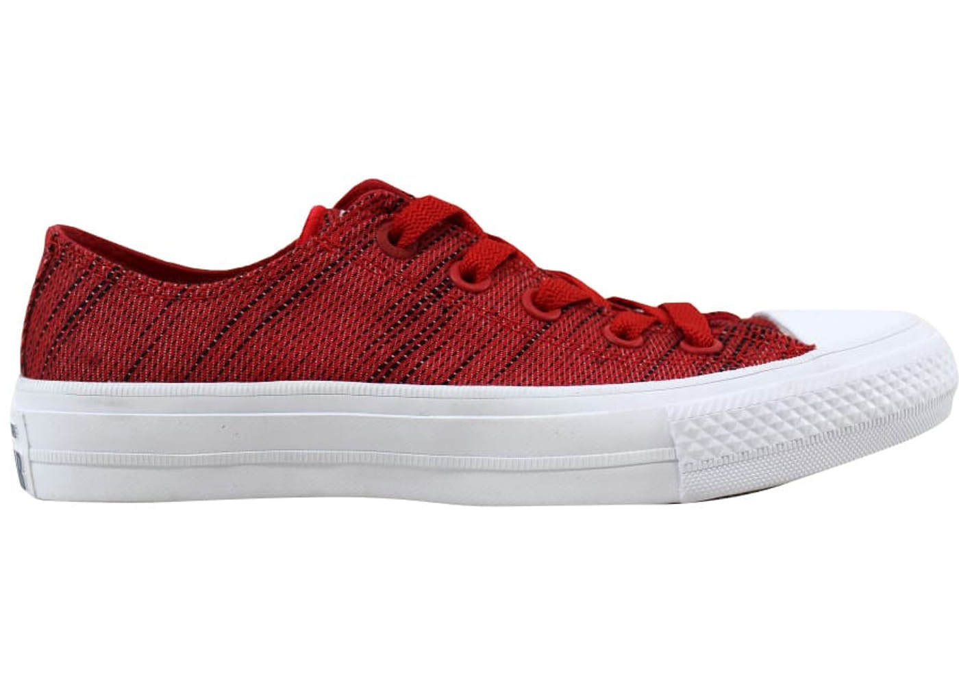 cheapest 100% top quality newest Converse Chuck Taylor All Star II 2 OX Red/Black-White