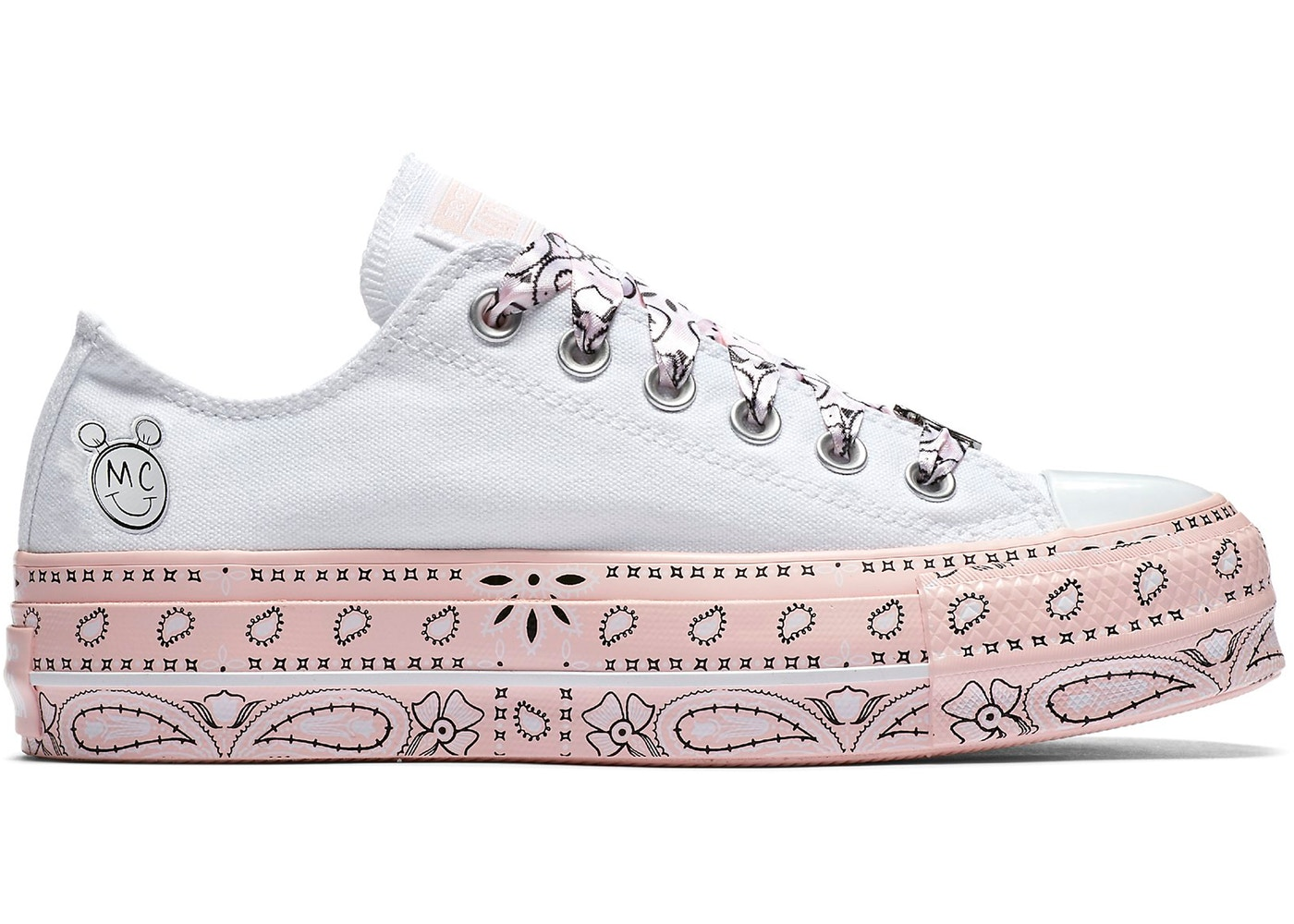 07276701b7 Converse Chuck Taylor All-Star Lift Low Miley Cyrus White (W) - 562236C