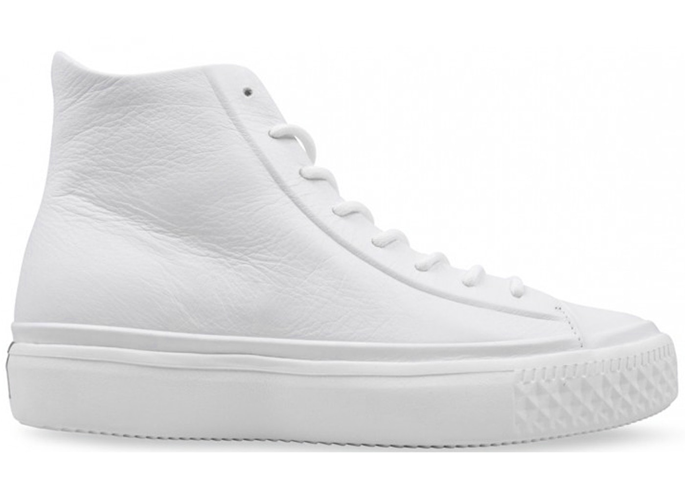 bea2bd788b3e Converse Chuck Taylor All-Star Modern Lux High White Leather - CN157199C