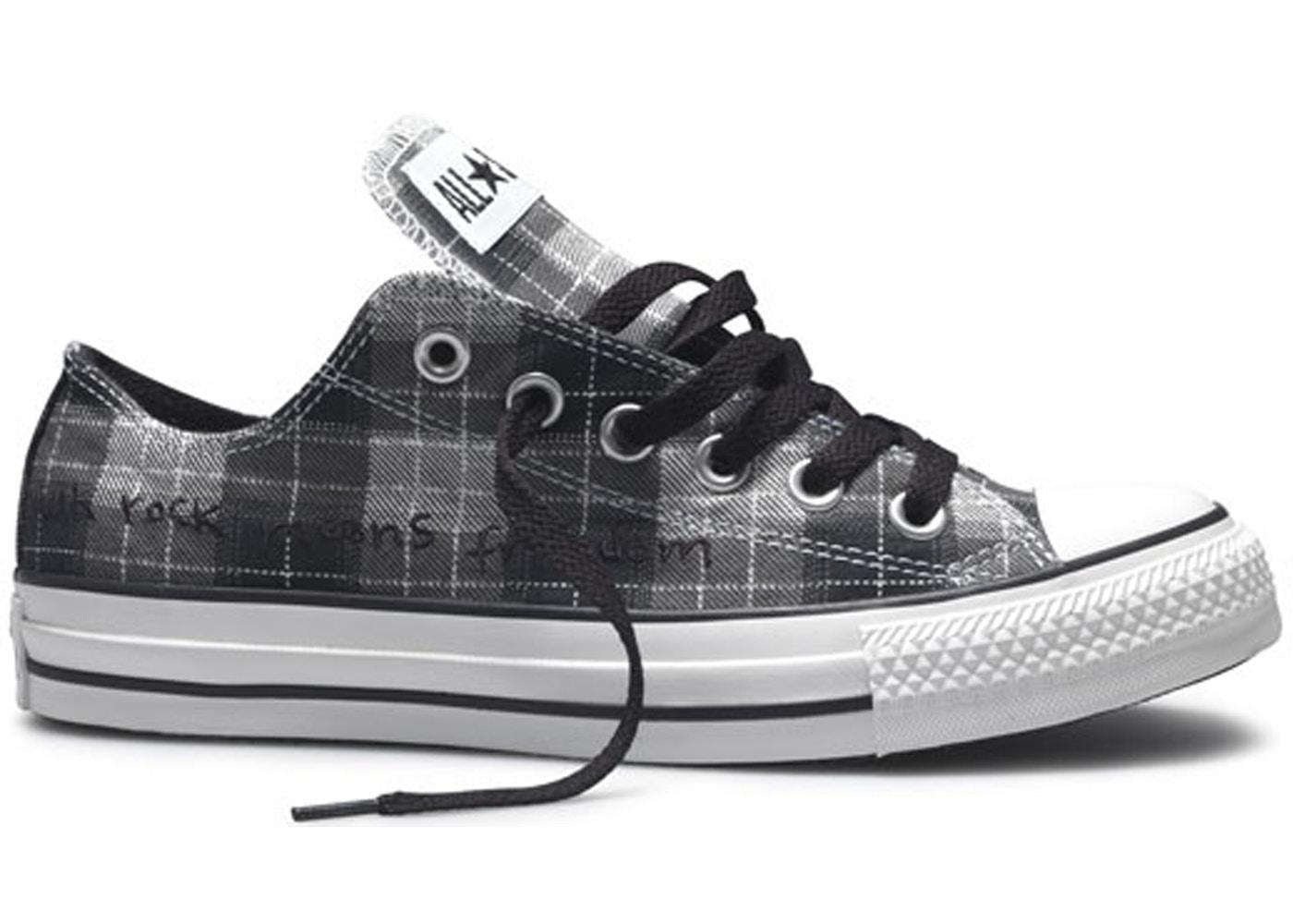 Converse Chuck Taylor All Star Ox Kurt Cobain (Plaid) Sneakers
