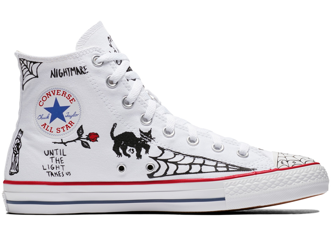 the best attitude 00e01 64674 Converse Chuck Taylor All-Star Pro Sean Pablo White