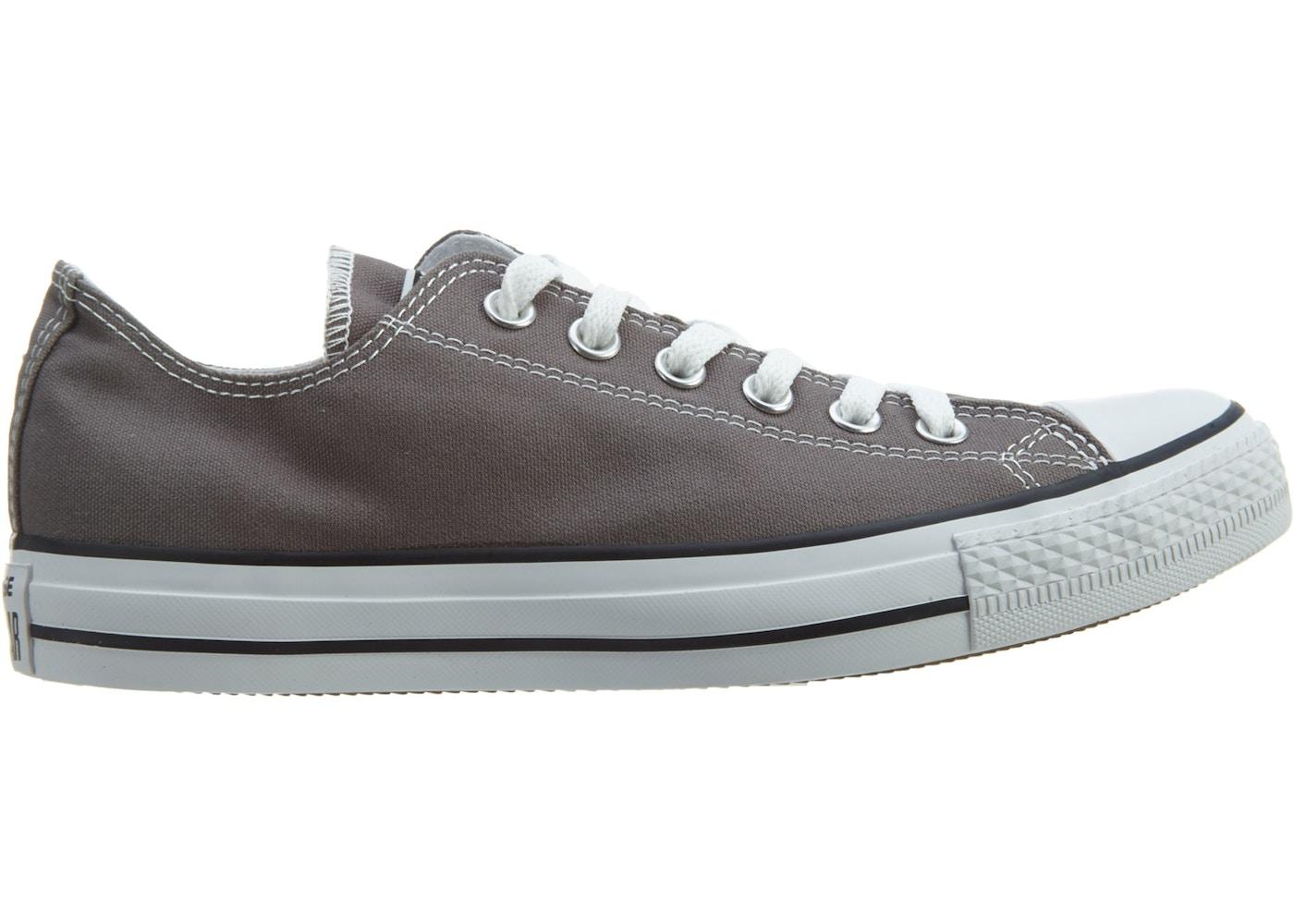 08427e54f2b Converse Chuck Taylor All Stars Ox Shoe - Charcoal - 1J794C
