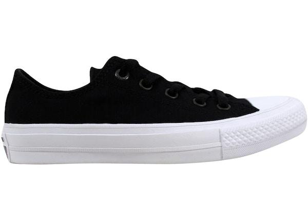 fc6fc6bc33af Converse Chuck Taylor II 2 OX Black White - 150149C
