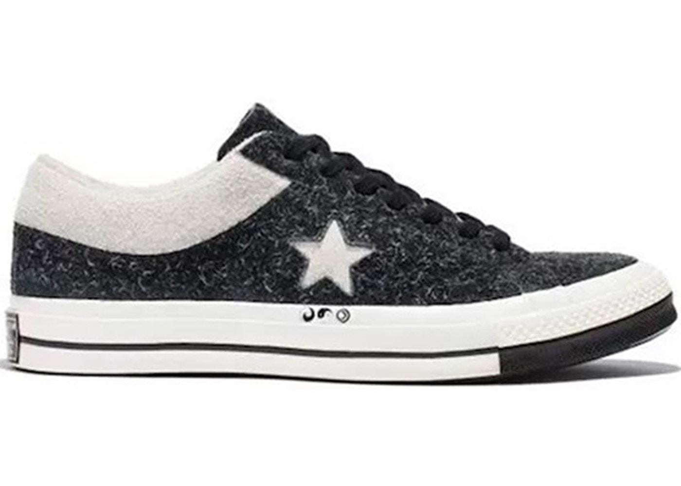 ef5ca1fea8f8 Converse One Star Ox Clot Black White - 159248C