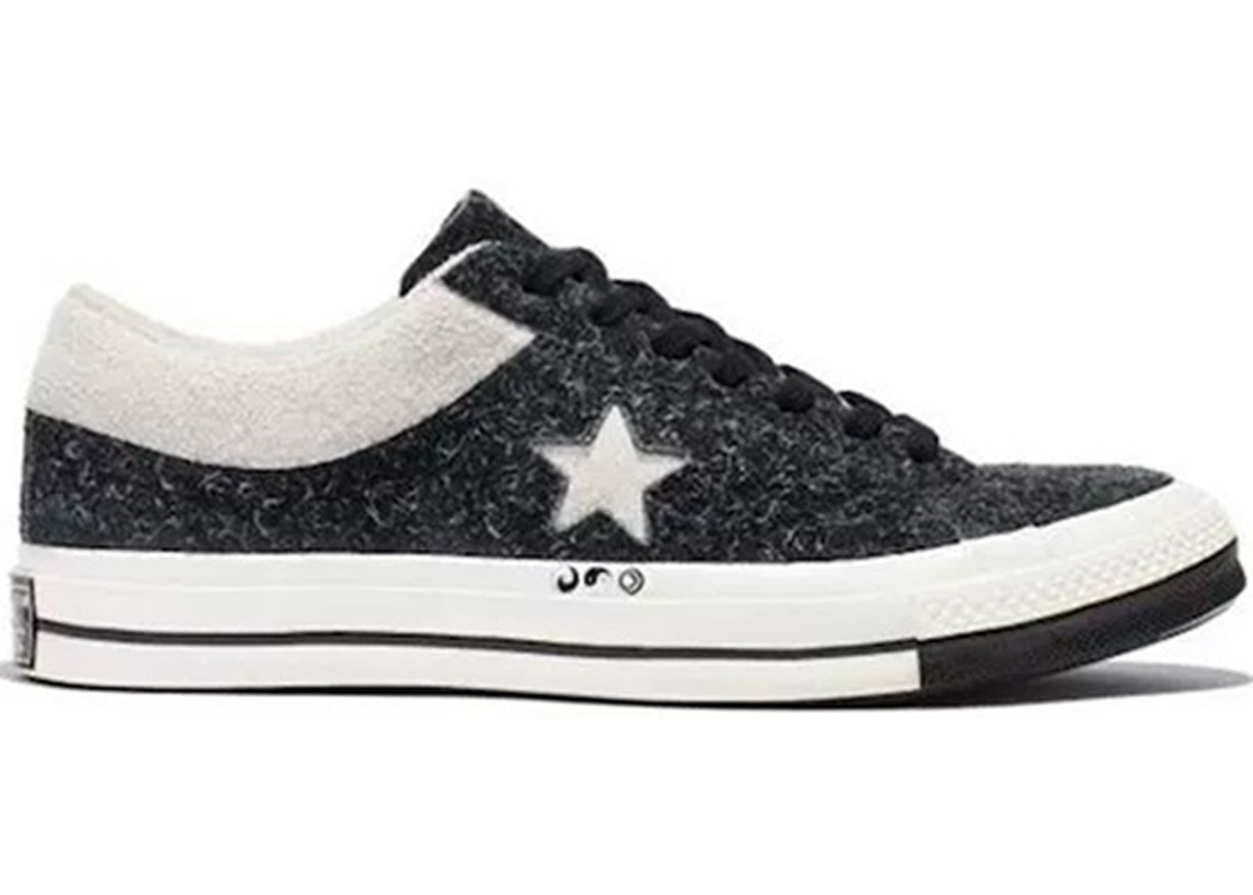 012af5c30746 Converse One Star Ox Clot Black White