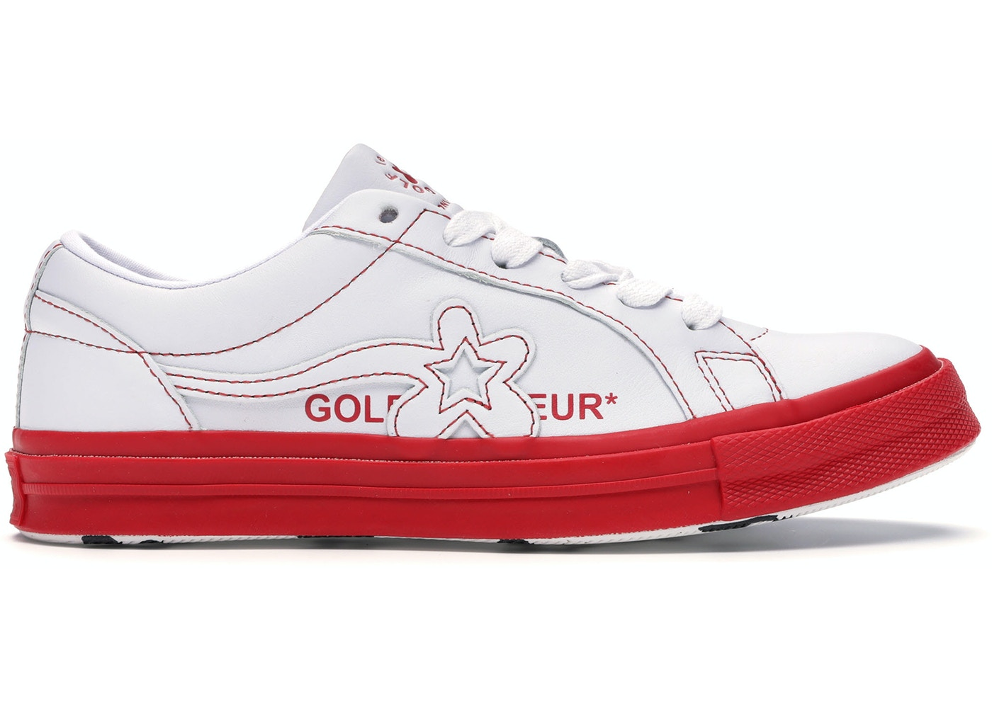 saltar golpear tira  Converse One Star Ox Golf Le Fleur Color Block Pack Red - 164026C