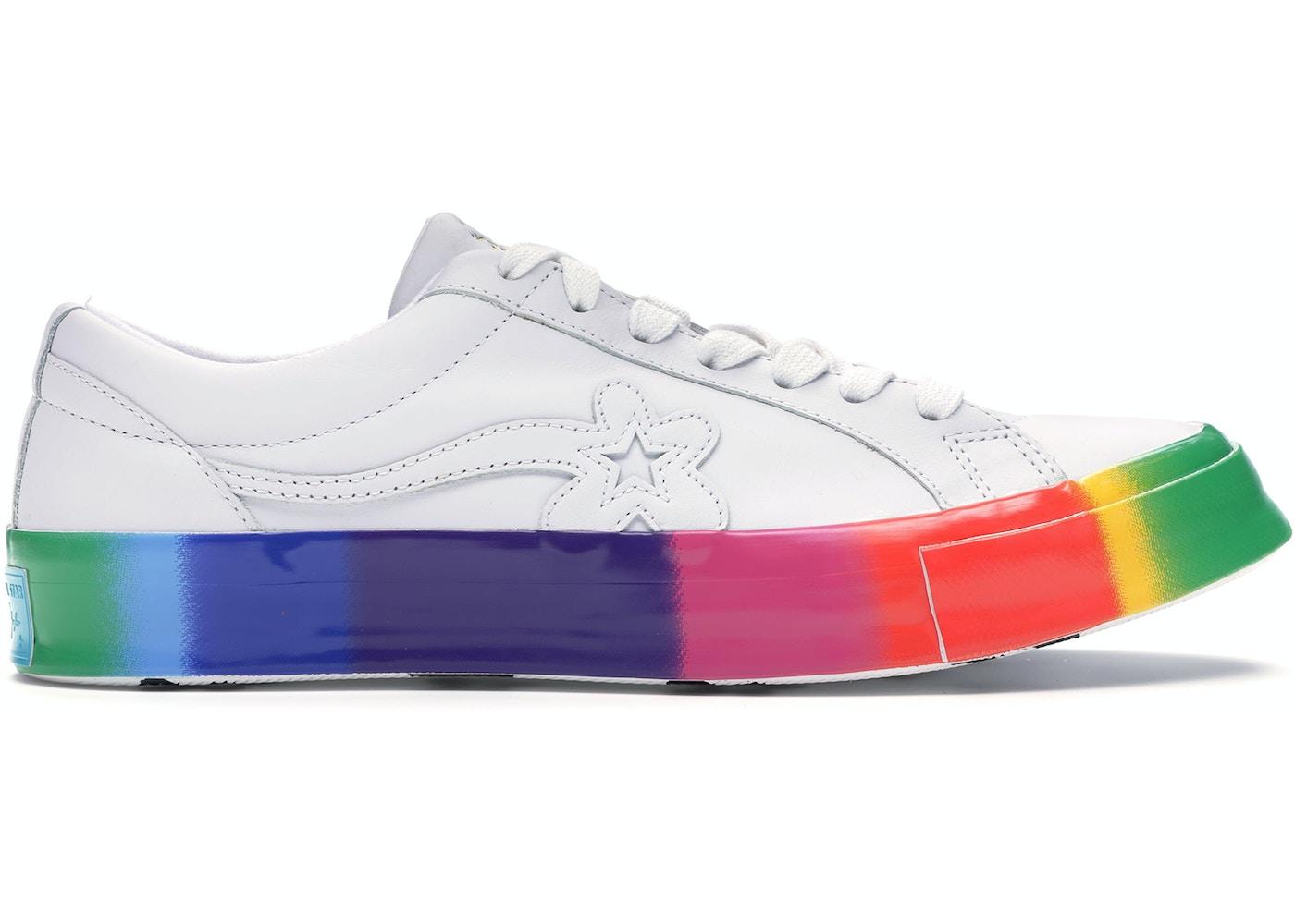 Converse One Star Ox Golf Le Fleur Rainbow Sole 166409c