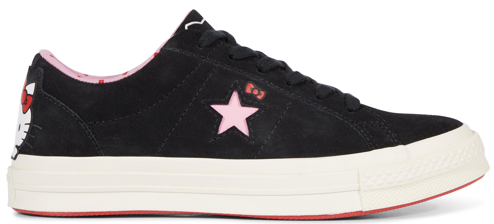 Converse One Star Ox Hello Kitty Black