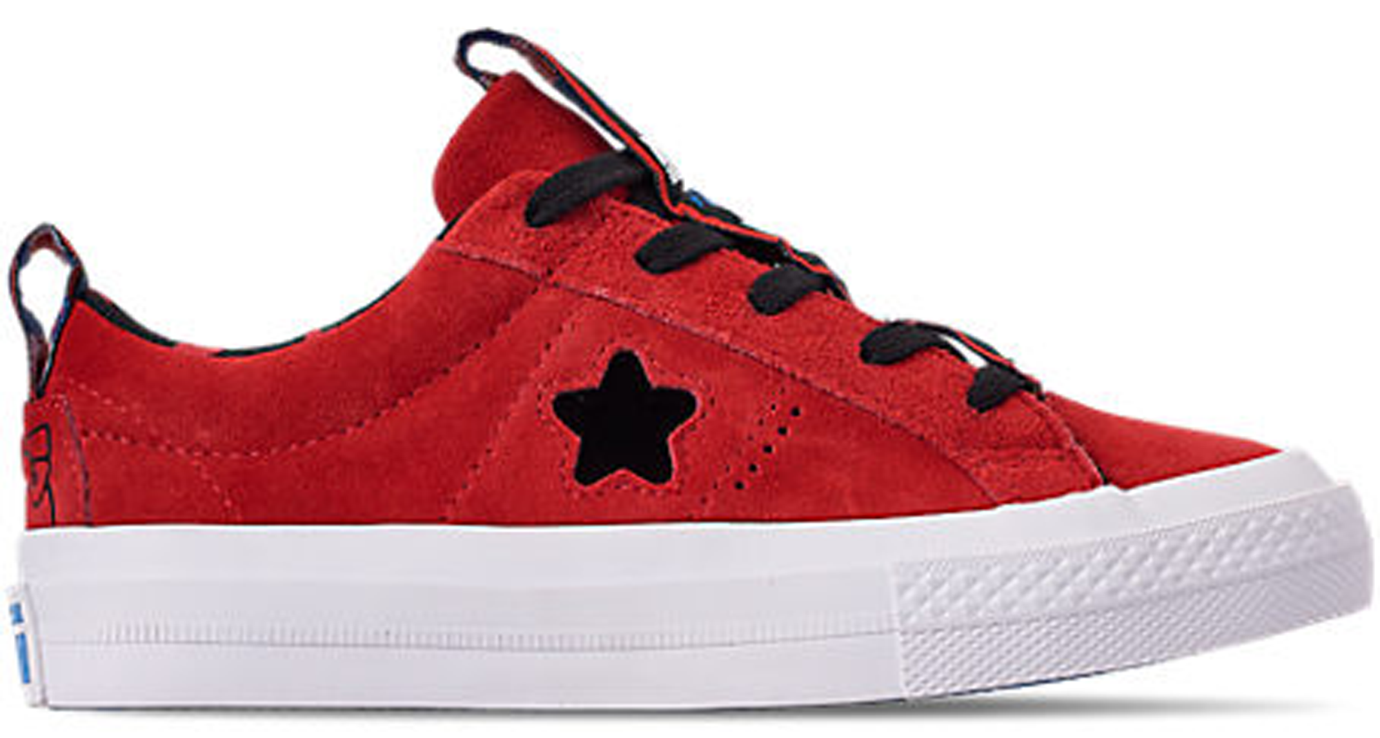 Pre-owned Converse  One Star Ox Hello Kitty Fiery Red (ps) In Fiery Red/black-white