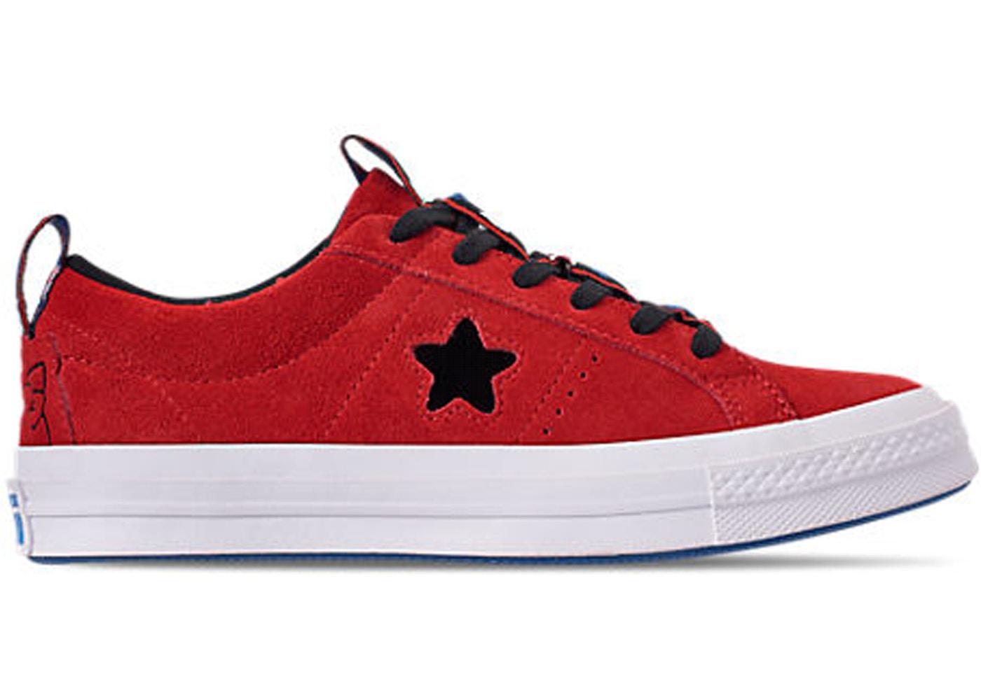 Converse One Star Ox Hello Kitty Fiery Red (W)