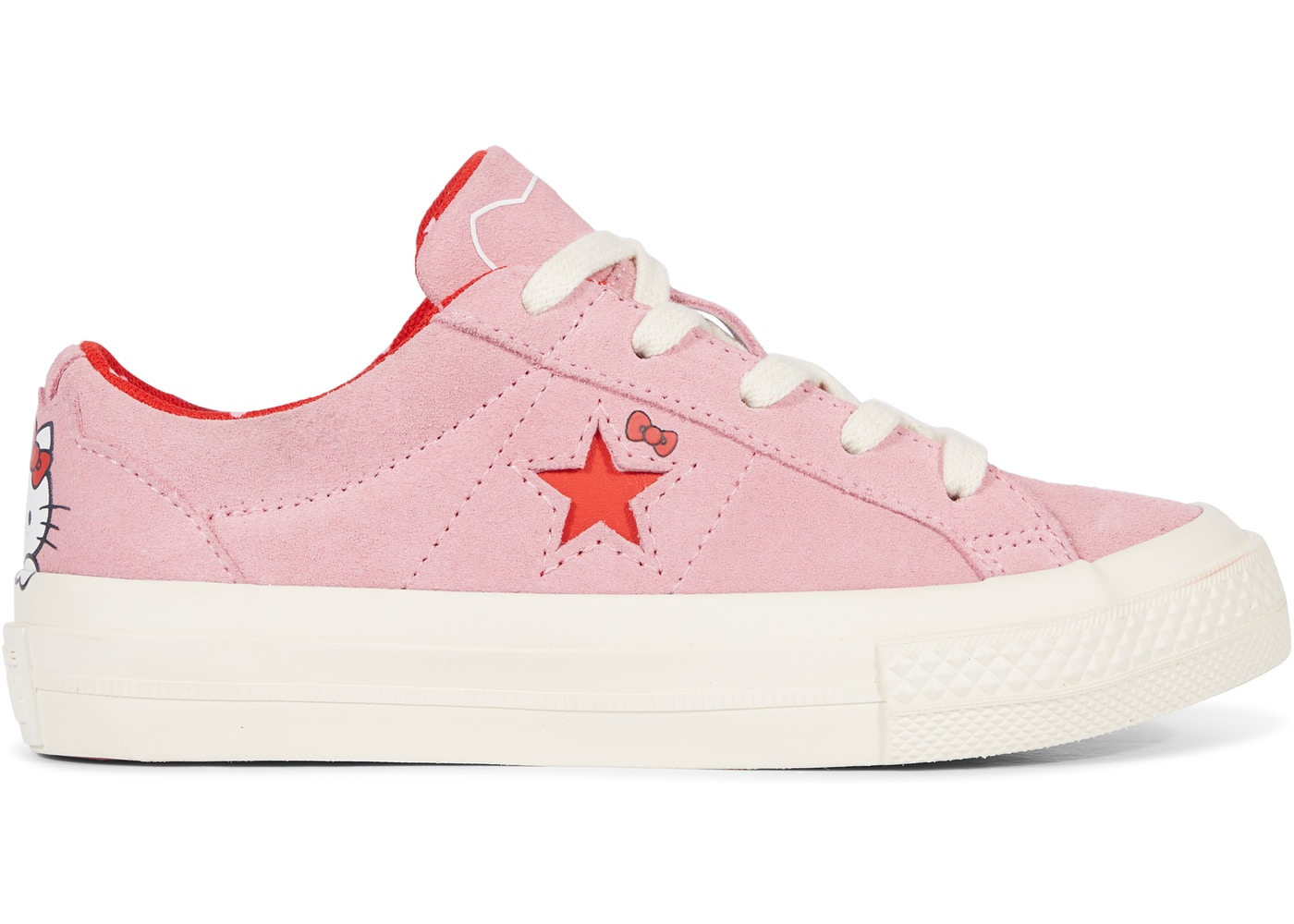 Converse One Star Ox Hello Kitty Pink (GS) - 362941C c19ffad3bd018