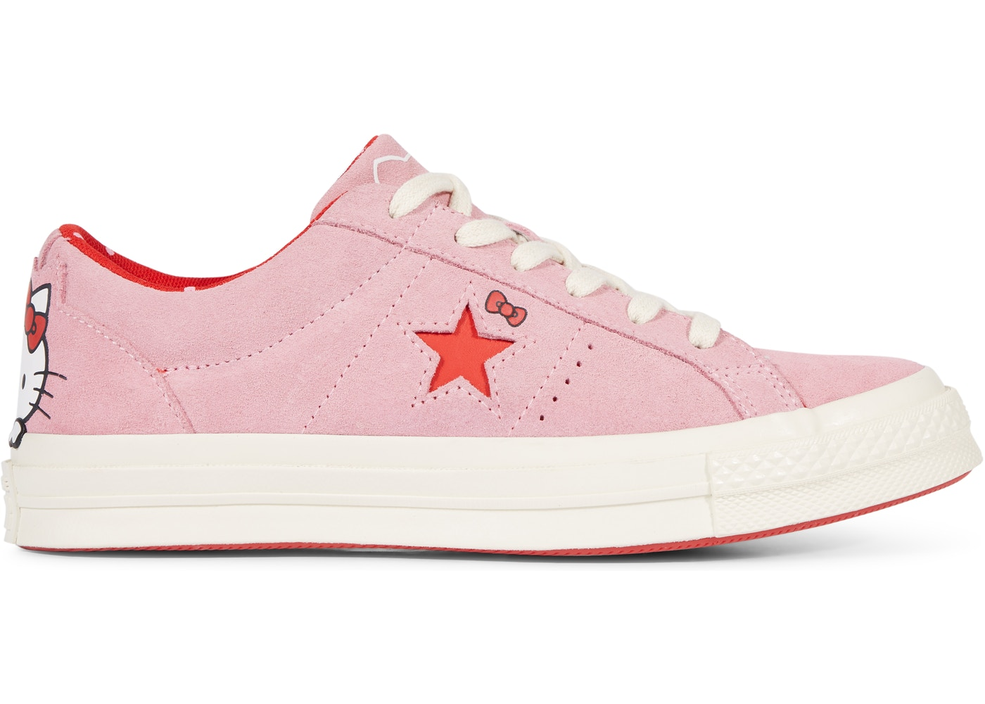 51e70dc891eb04 Sell. or Ask. Size 9. View All Bids. Converse One Star Ox Hello Kitty Pink