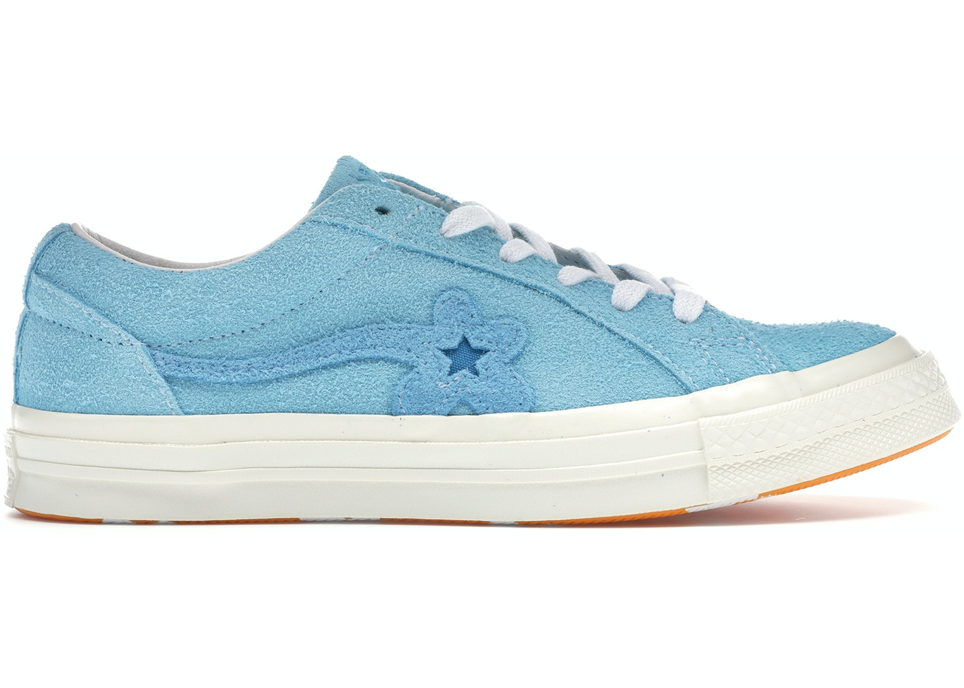 e0a914279484 Converse One Star Ox Tyler the Creator Golf Le Fleur Bachelor Blue - 160326C
