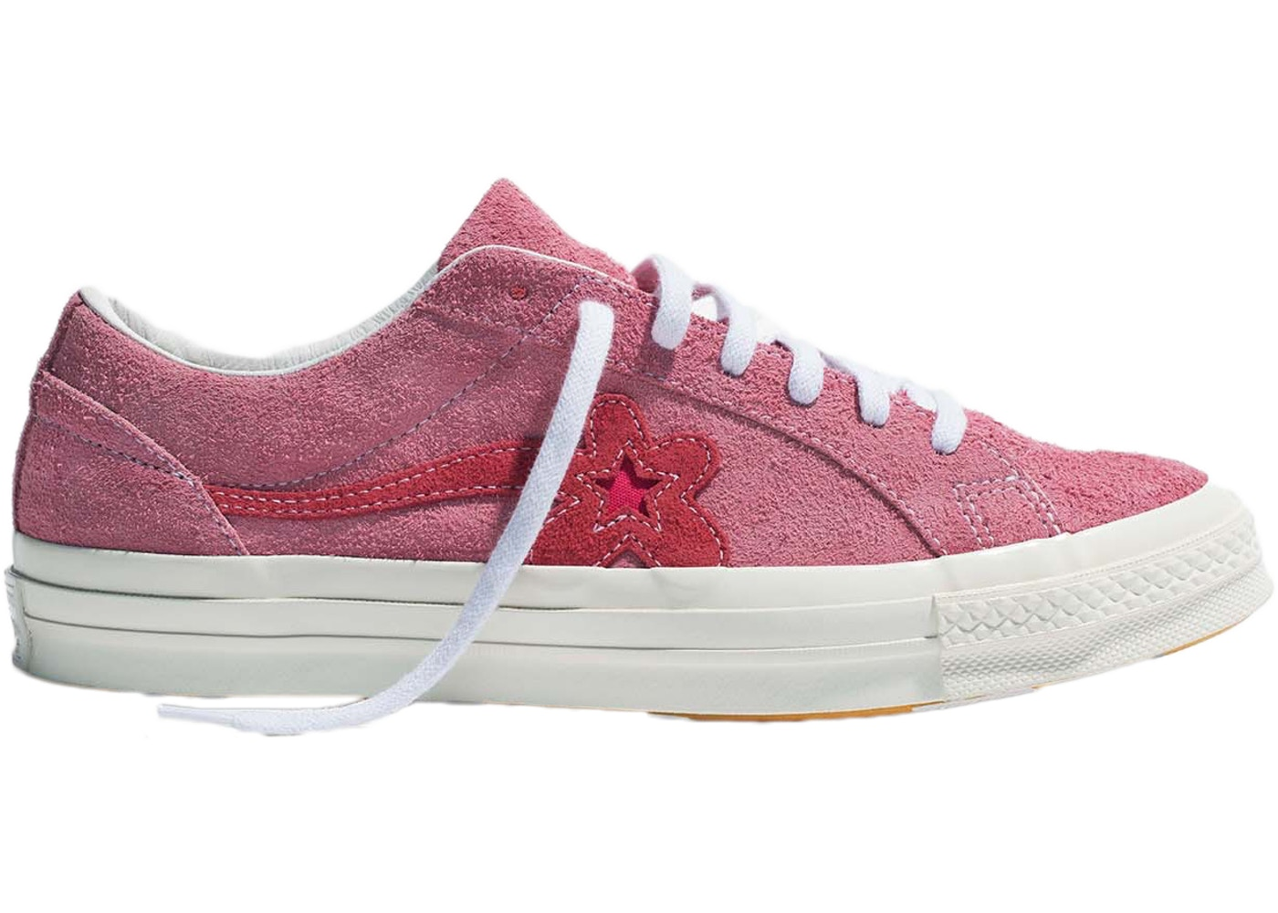 f9c9b73235a Converse One Star Ox Tyler the Creator Golf Le Fleur Geranium Pink - 160325C